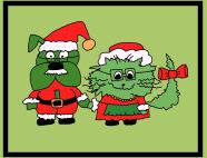Santa Paws & Mrs Claws